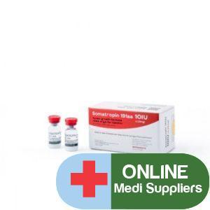 Somatropin (HGH) 10 vials 10 IU/vial