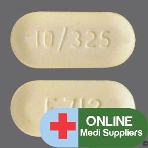 Hydrocodone bitartrate and acetaminophen pills 10/325 for sale online